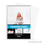 Transparente Transferfolie für helle Textilien - 5 Blatt