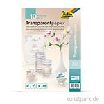 Transparentpapier - weiß, 115g, DIN A4, 10 Blatt