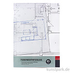Transparentpapierblock, 50 Blatt, 80 g