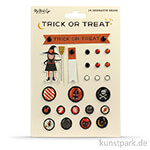 Trick or Treat Collection - Decorative Brads, 24 Stück
