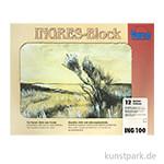 Vang INGRES Pastellblock farbig sortiert, 20 Blatt, 100g 31 x 41 cm
