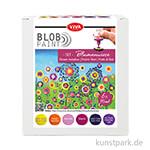Viva Decor Blob Paint Set - Blumenwiese