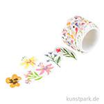 Washi-Sticker - Streublumen, 200 Stück