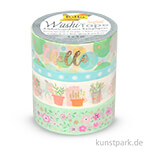 Washi-Tape Hotfoil - FRÜHLING I, 4er Set