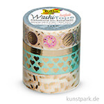 Washi-Tape Hotfoil - GOLD II, 4er Set