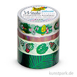 Washi-Tape Hotfoil - IRISIEREND GRÜN, 4er Set