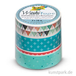 Washi-Tape PASTELL - 4er Set