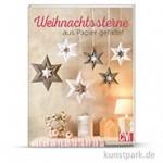 Weihnachtssterne aus Papier gefaltet, Christophorus Verlag