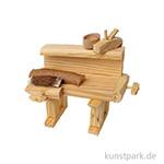 Werkbank aus Holz 9,5 cm