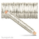 Wickeldraht 0,5 mm 100 g | Silberfarben