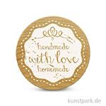 Woodies Stempel - Handmade with love homemade 1