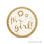 Woodies Stempel - It's a girl 2