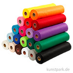 XXL Set - Bastelfilz aus 100% Polyester - 20 Farben, 45 x 500 cm, 1,5 mm