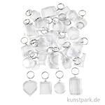 XXL Set - Schlüsselanhänger, 100 Stück sortiert