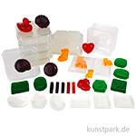XXL Set - Seifenfabrik mit Material und Formen für 50 Seifenstücke