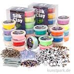 XXL Set - Silk Clay - Bastelmaterial für 100 Monster