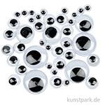 XXL Set - Wackelaugen, 11 Größen, 1100 Stück sortiert