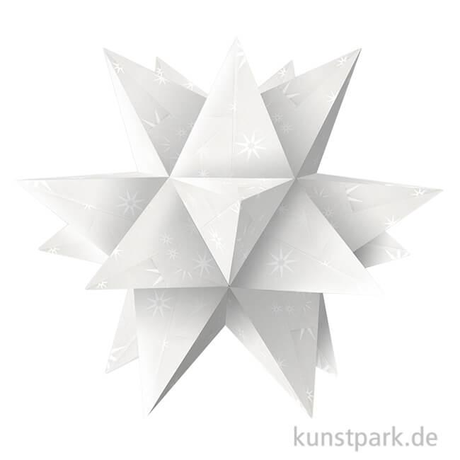 Aurelio Stern Bastelset White Line Sterne 148x148 Cm 115g