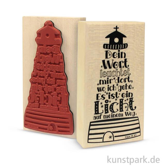 Butterer Stempel Leuchtturm 5x10 Cm