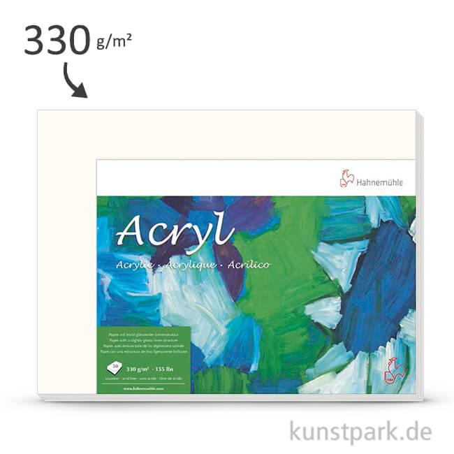 Hahnemühle ACRYL Malpapier 330g - 50 Einzelbogen