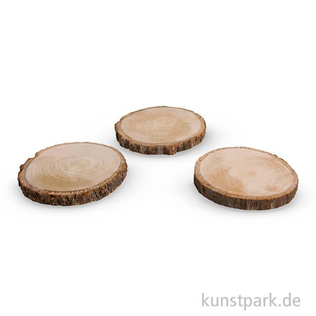Holzscheibe top baumscheibe holzscheibe eiche ca jahre in - Holzscheibe rund ...