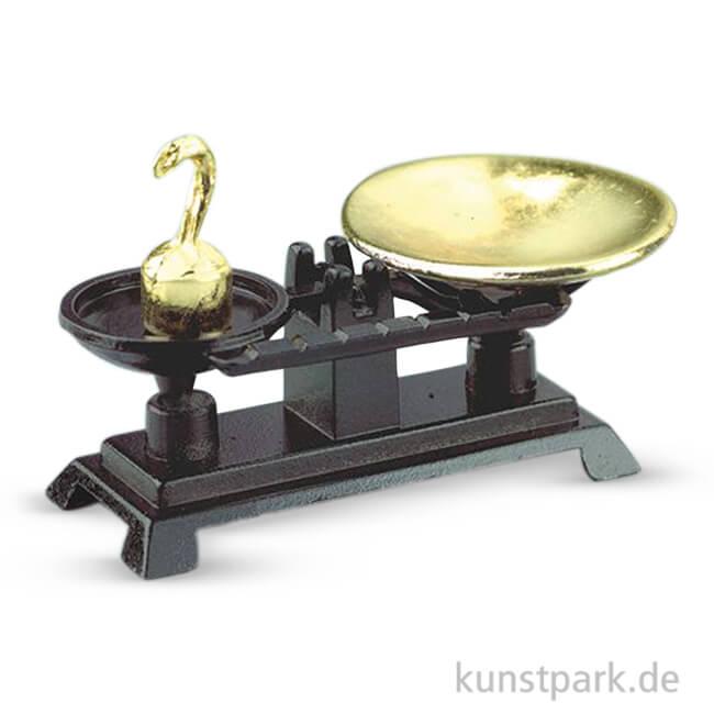Kuchenwaage Nostalgisch 4 5x2 Cm 3 Teilig