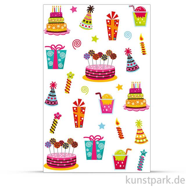 Maildor Cooky Sticker Geburtstag
