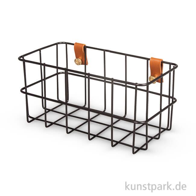 Metall Regal Korb Schwarz Mit Befestigung
