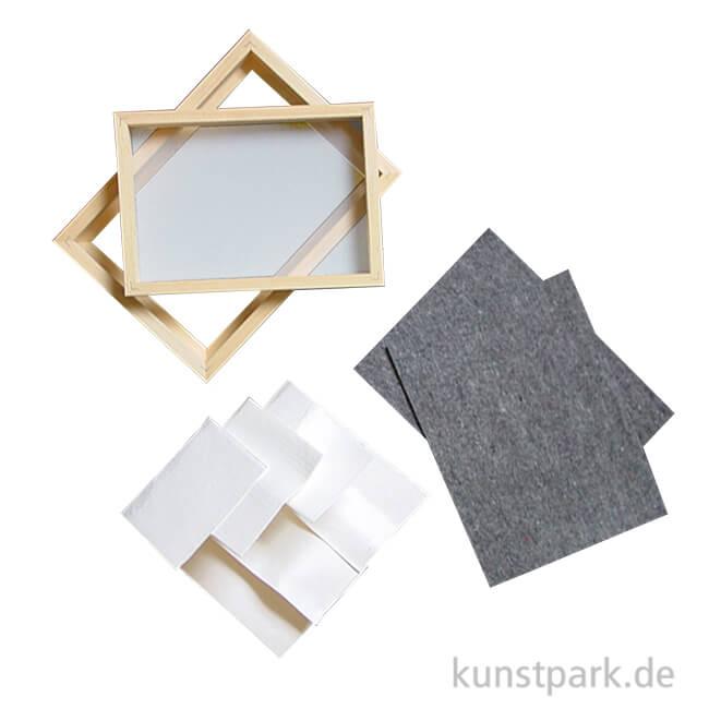 papiersch pfrahmen set. Black Bedroom Furniture Sets. Home Design Ideas