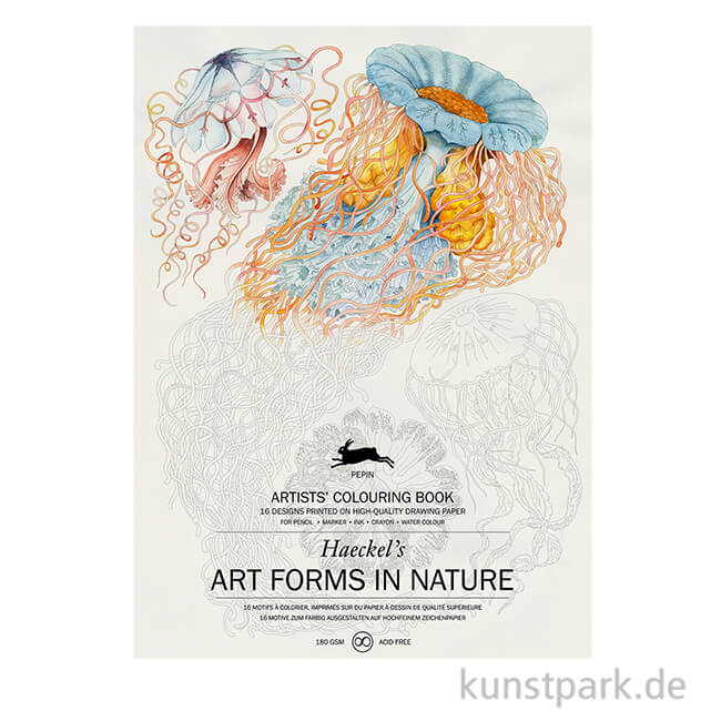 art form quality PEPIN Künstler Malbuch - Art Forms in Nature