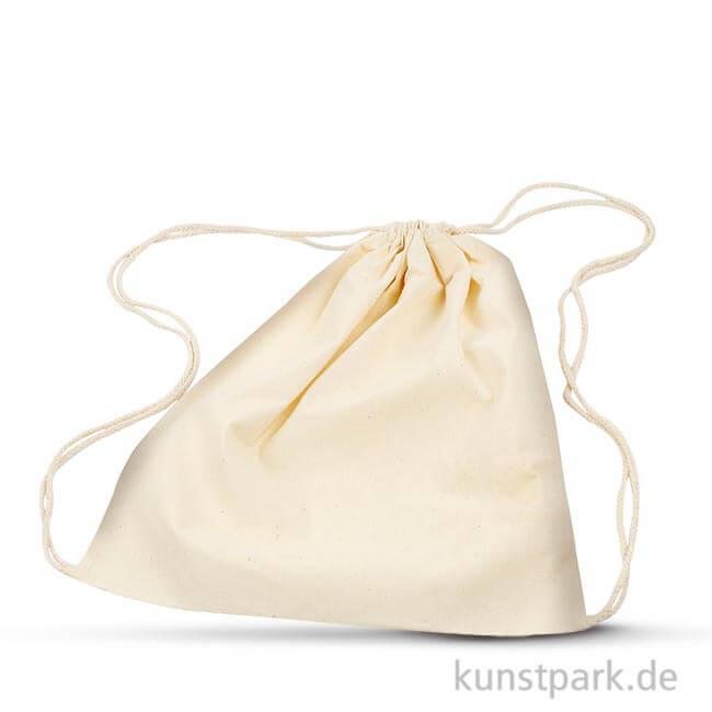 guter Service offizieller Preis hochwertiges Design Schuhbeutel aus Baumwolle - Natur, 37x41 cm, 3 Stück