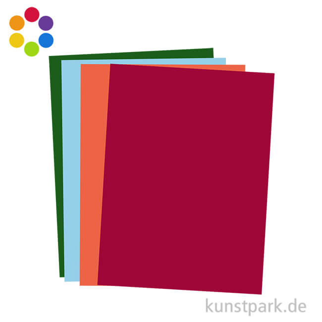 50er Pack 0,15€//Bogen 17 ocker Gewicht 130g//m² Tonzeichenpapier A3