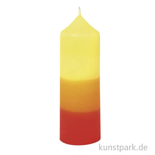 Kerzengie/ßform Zylinder mit Glockenspitze 5,0 x 14 cm