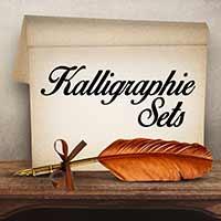 Kalligrafiesets für das Schönschreiben