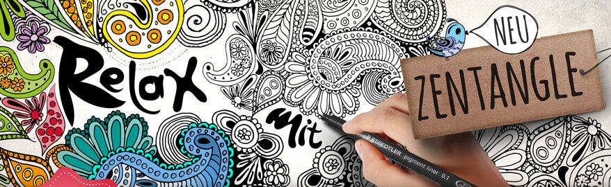 Zentangle Zendoodle Shop Kunstpark